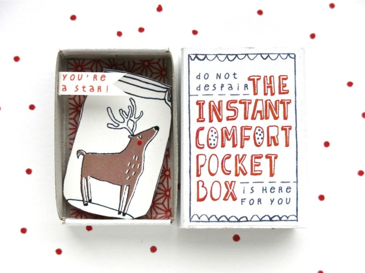Kim Welling, Instant comfort pocket box